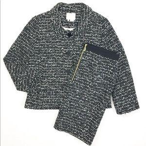 KATE SPADE Blazer/Skirt Ribbon Sash Silver Lining